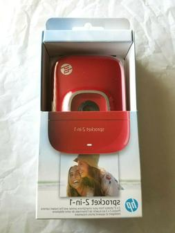 HP 2FB98A#B1H Sprocket 2-in-1 Portable Photo Printer & Insta