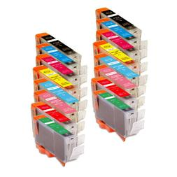 Color Ink Cartridges for CLI-8 Canon Pixma Pro9000 Mark II P