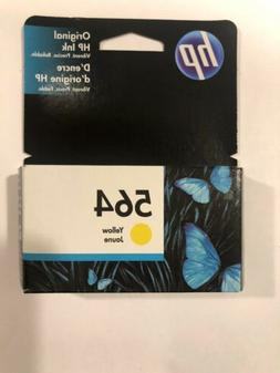 Genuine HP 564 Yellow Printer Ink, New Sealed, NOT expired U