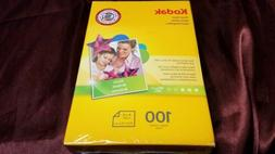 KODAK 100 Sheet 4 x 6 Inkjet Glossy Photo Printer Paper Cano