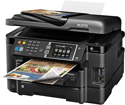 Epson WorkForce WF-3640 with Scanner and Amazon Dash Replenishment