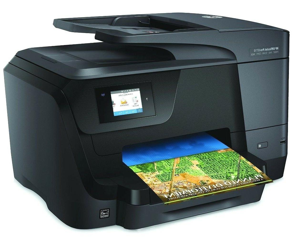 HP OfficeJet Wireless in Photo Mobile Printing NEW