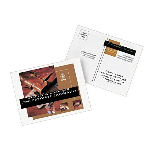"""Avery Ink Jet Photo Quality 4-1/4"""" 5-1/2"""", 100 per Pack"""