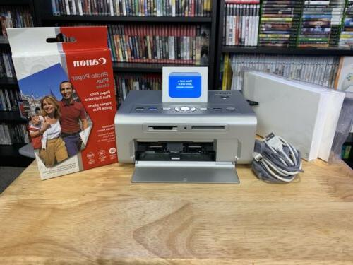 photo printer 540 with paper