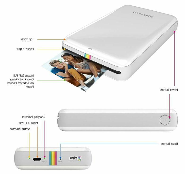 Mobile Cell Phone Photo Printer For iPhone New