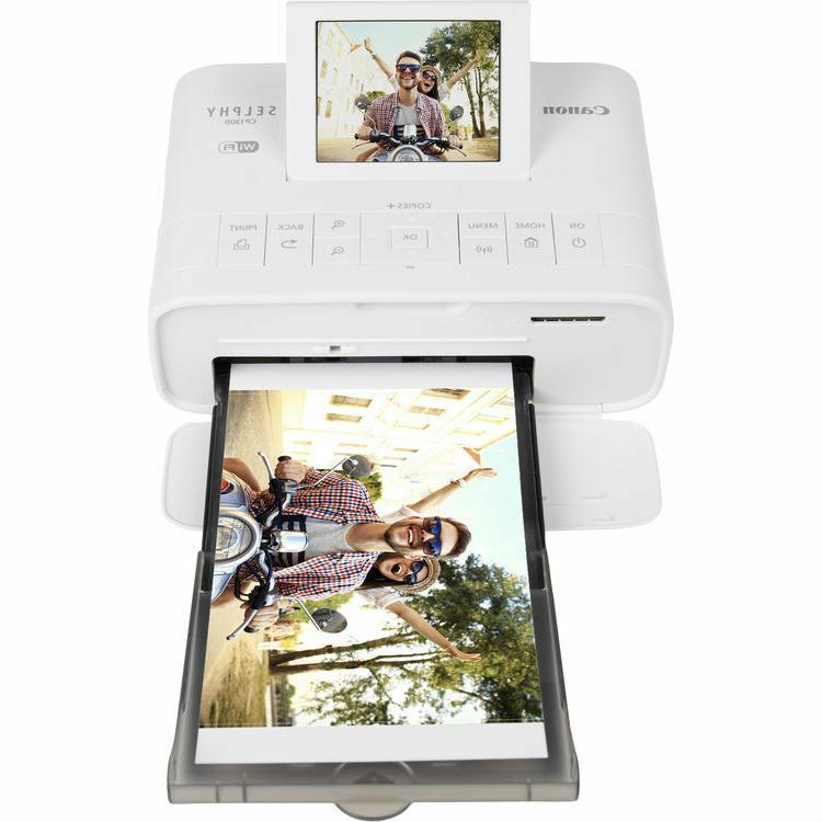 Canon SELPHY Photo Printer with Ink/Paper Set