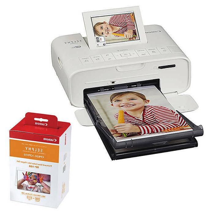 Canon SELPHY Photo with RP-108 Ink/Paper Bundle Kit