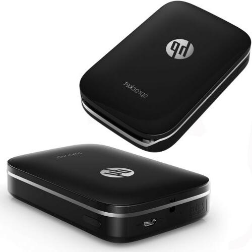 HP Sprocket + sheets + Case USB Cable