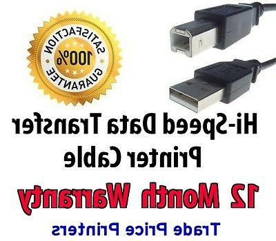 usb printer lead cable for photosmart series