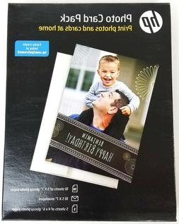 NEW HP Inkjet Printer Glossy Photo Card Picture Paper Pack,