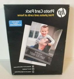 HP Photo Card Kit with 10 sheets of 5x7-Inch Glossy Photo Pa