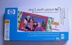 Printer Holiday Photo Cards, Genuine HP, 4X8, 40 set, 10mil,