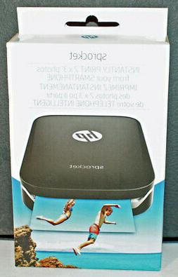 HP Sprocket 100 Digital Photo Printer with ZINK - Black - Br