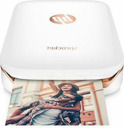 "HP Sprocket photo printer ZINK  313 x 400 DPI 2"" x 3""  white"
