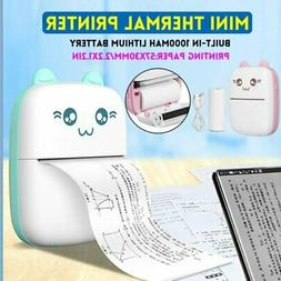 Wireless Mini Portable Thermal Printer Photo Pocket Photo Pr
